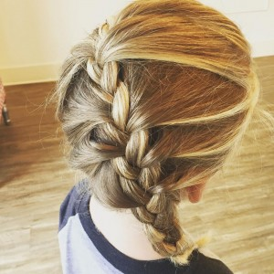 Blown Away Braid Hairstyle