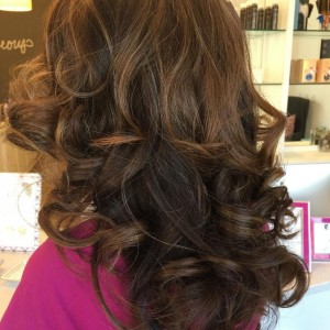Blown Away Raleigh Curly Hairstyle