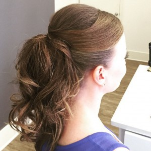 Blown Away Fancy Ponytail